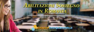 Abilitazione sostegno romania