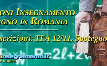 Abilitazione insegnamento e sostegno in Romania