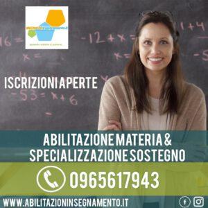 abilitazioni insegnamento specializzazione sostegno